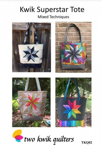 Kwik Super Star Tote Bag Pattern